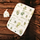 Thumbnail: Custom Name Baby Swaddle - Gold & Green Floral