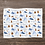 Thumbnail: Custom Name Baby Blanket - Woodland Bear