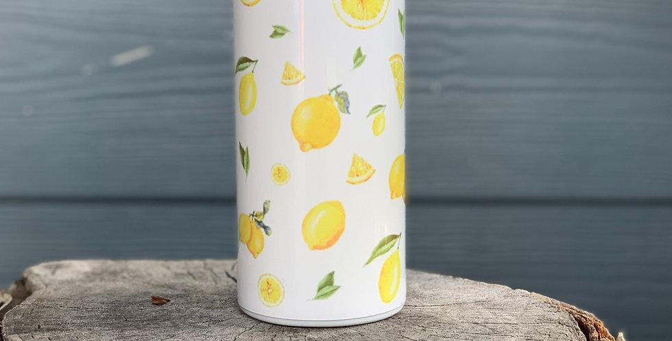 Lemon Skinny Can Cooler