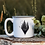 Thumbnail: Explore More Triangle White Campfire Mug