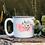 Thumbnail: Floral Montana White Campfire Mug
