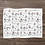 Thumbnail: Custom Name Baby Blanket - Floral Illustration