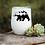 Thumbnail: Mountain Bear Wine Tumbler