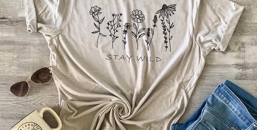 Stay Wild Wildflowers T-Shirt