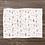 Thumbnail: Custom Name Baby Blanket -  Gold & Pink Floral