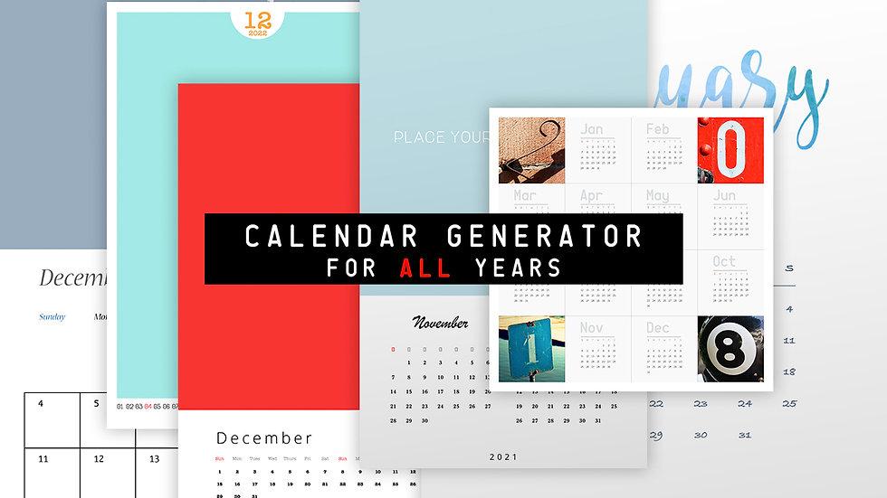 Infinite Calendar - PS