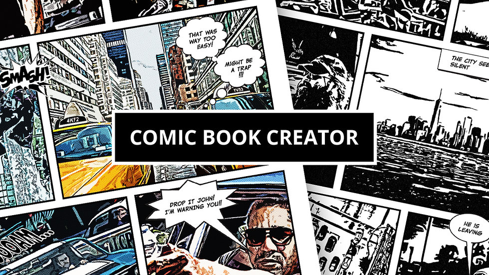 Comic Book Creator Bundle