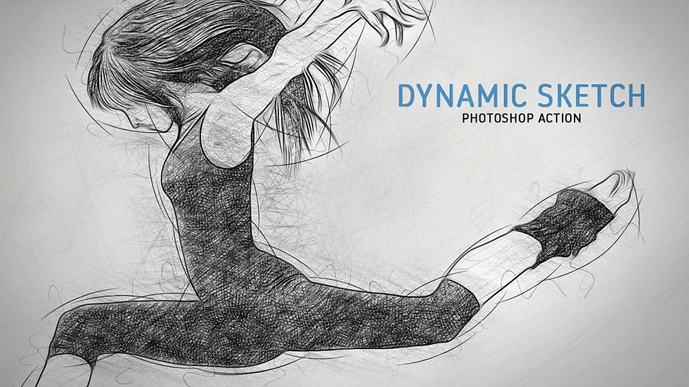 Dynamic Sketch PS Action