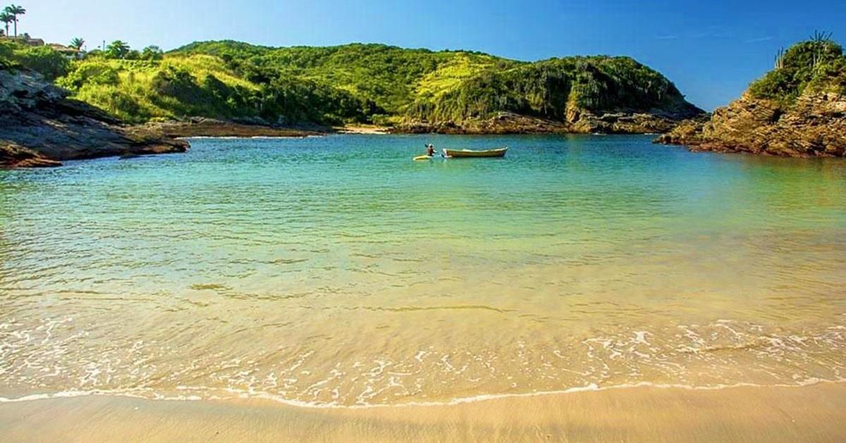BÚZIOS - Praia da Ferradurinha
