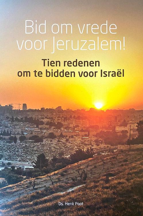 Henk Poot - Bid om vrede voor Jeruzalem
