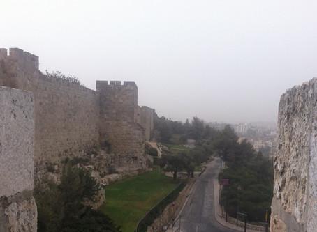 STILTE IN JERUZALEM?