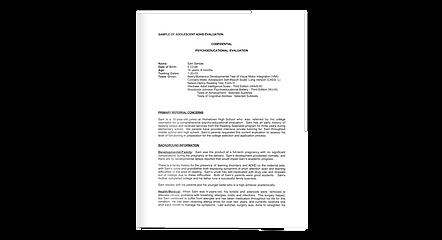 Klarity_adhd_sample_report.png