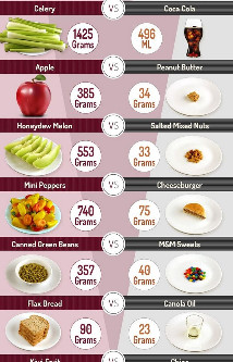 What do 200 calories look like?