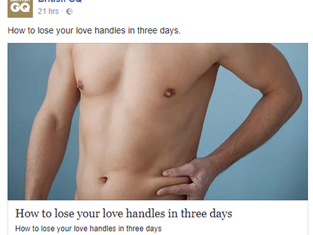 Seriously? Lose Your Love Handles in 3 days?