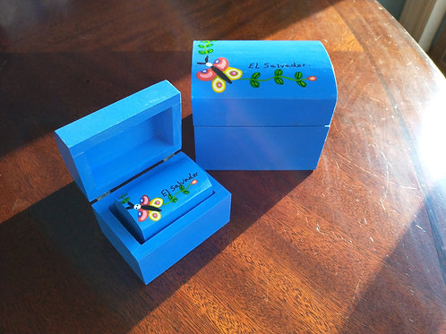 Nested Wooden Boxes