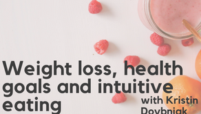 Ep. 128: Weight loss, health goals and Intuitive Eating