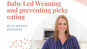 Episode 147: Baby Led Weaning and preventing picky eating with Megan from Feeding Littles