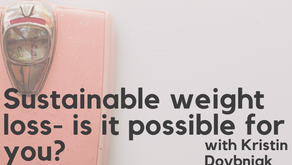 Ep. 129: Sustainable weight loss- is it possible for you?