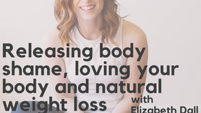 Ep. 130: Releasing body shame, loving your body and natural weight loss with Elizabeth Dall, MS, CEP