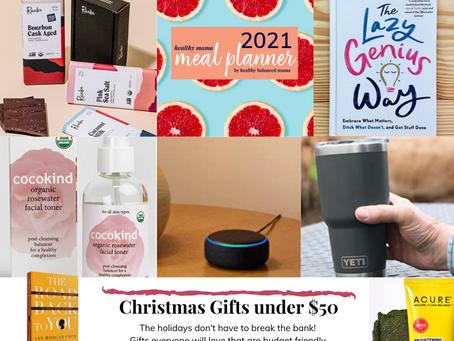 2020 Gift Guide: under $50 favorites