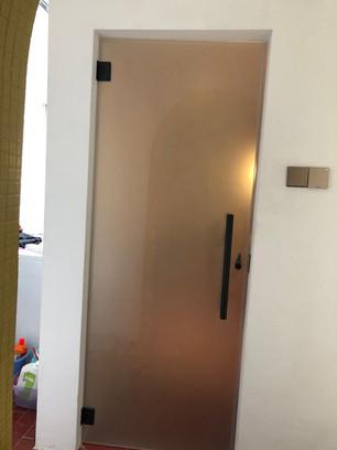 Casement Tempered Glass Door