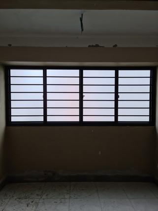 Sliding Window c/w Horizontal Grille