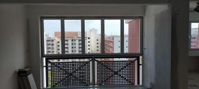 Casement Window @ Balcony
