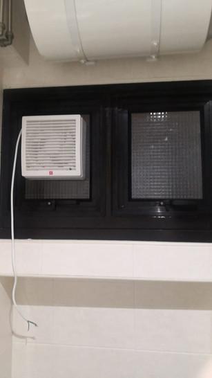Double Section Hung Window c:w Ventilati