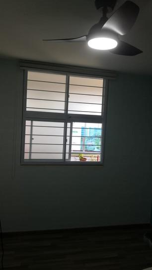 Sliding Window (Top & Bottom) c/w Horizontal Grille