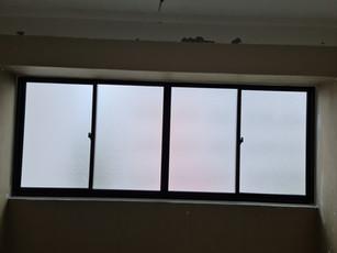 Sliding Window in Black Frame c_w Froste