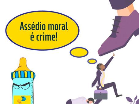 SINTECT-PE reforça: Assédio moral é crime, denuncie ao seu sindicato!