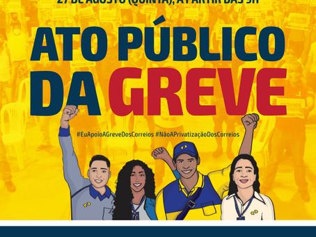 SINTECT-PE convida categoria para ato público da greve