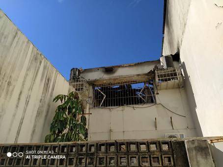 Incêndio no CDD Encruzilhada é resultado do abandono da direção da Empresa