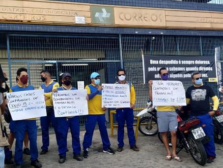 O descaso dos Correios na pandemia não para! Denúncias escancaram a irresponsabilidade da Empresa