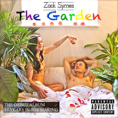 Zack Symes The Garden album cover