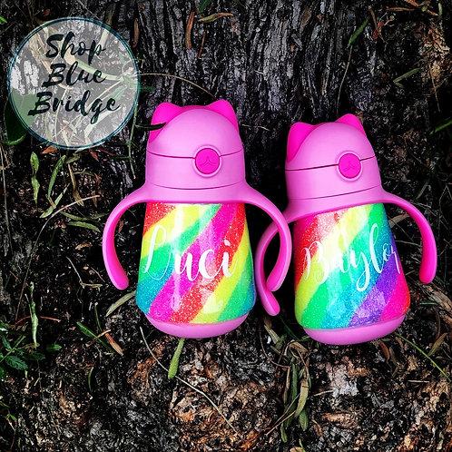 The Purrrrfect Rainbow - 8 oz Kitty Cup
