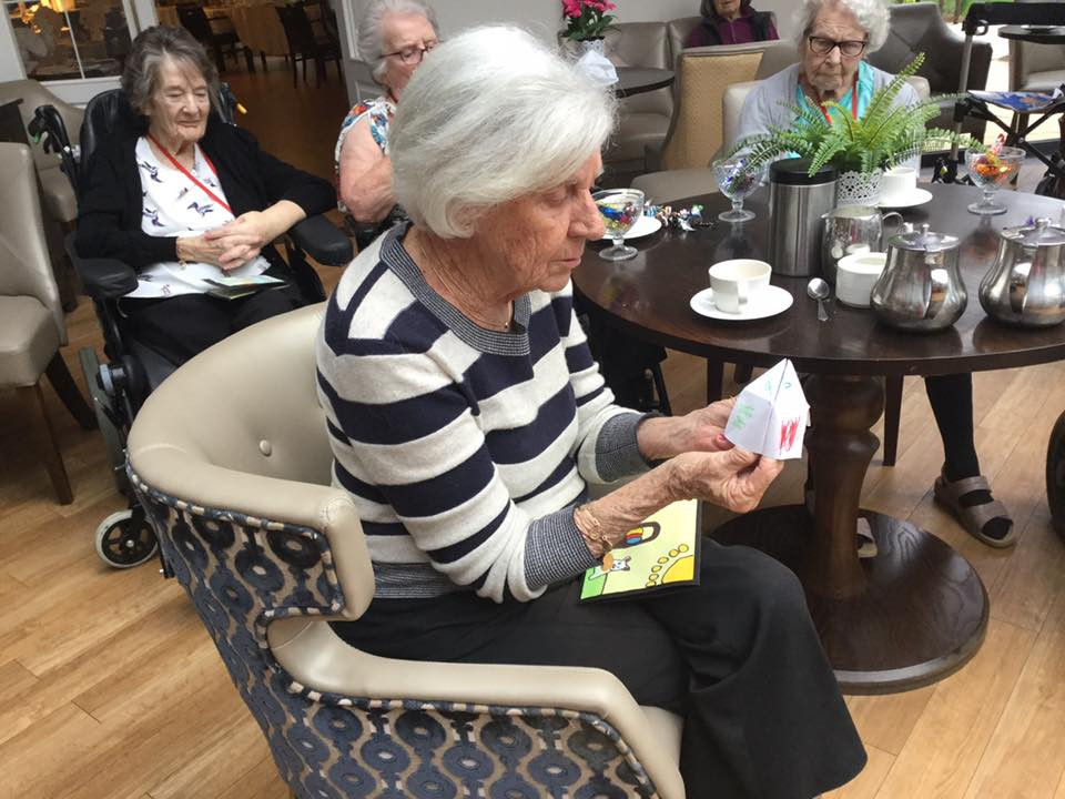 Care to Create at Silvermere Care Home - Games for the residents