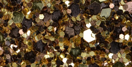 GOLD/BRONZE MIX 'GLAM' GLITTER WALL COVERING