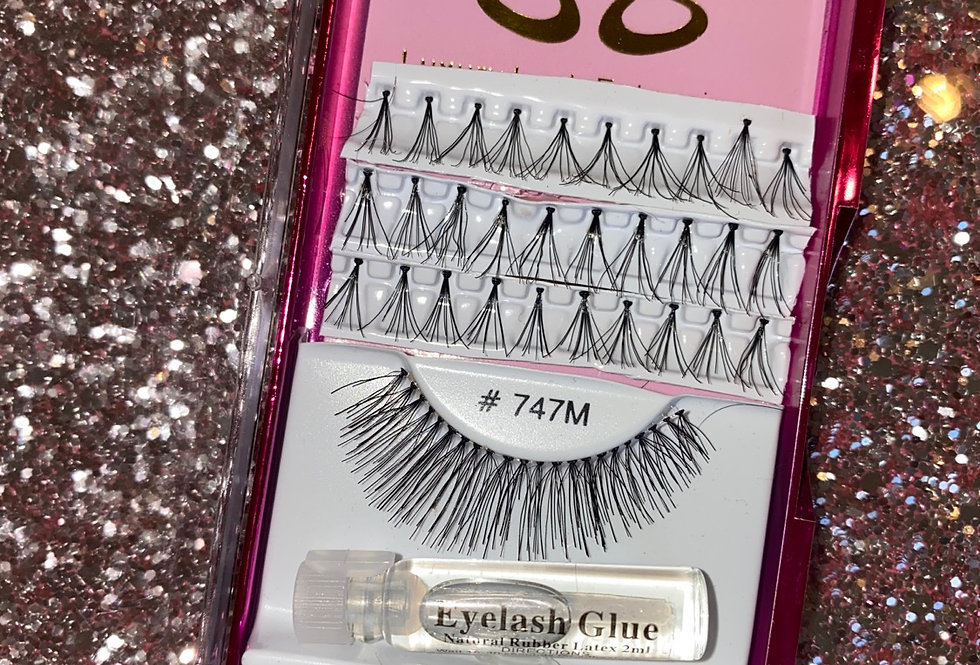 Eyelash extensions emergency kit