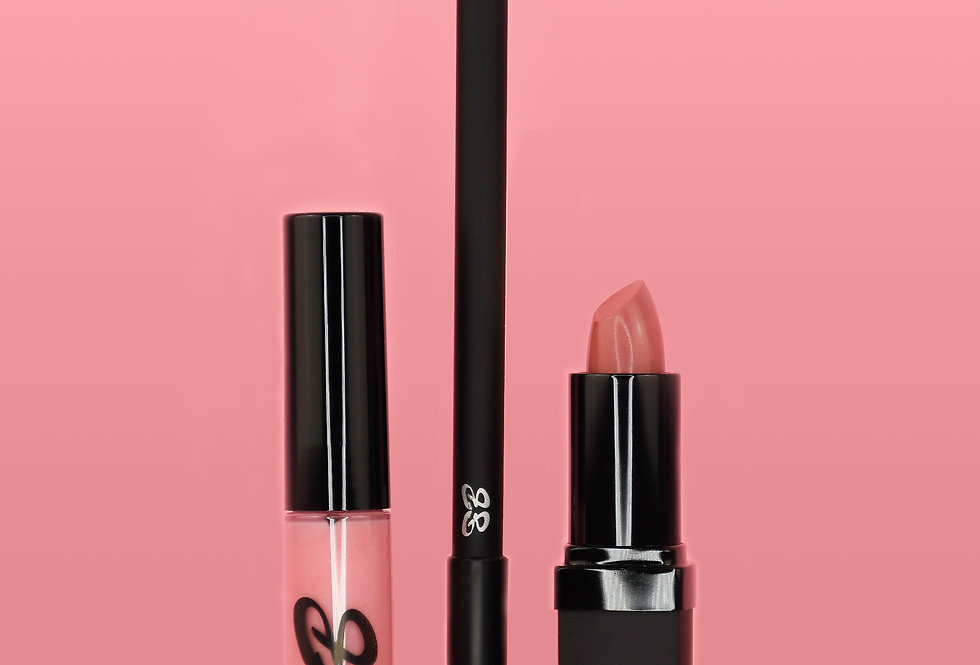PRETTY IN PINK LIP 3-SOME BUNDLE