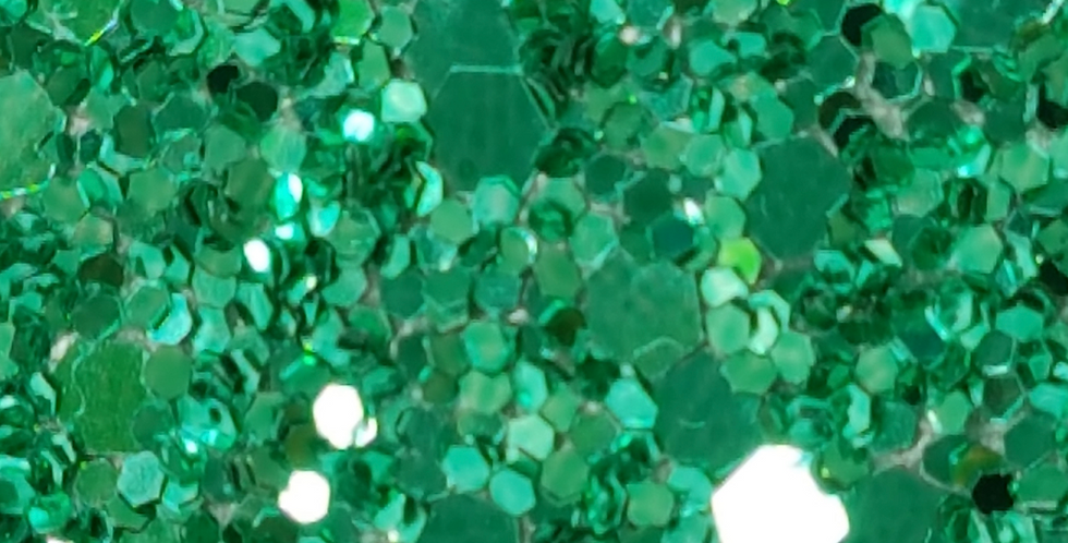 JADE GREEN 'GLAM' GLITTER WALL COVERING
