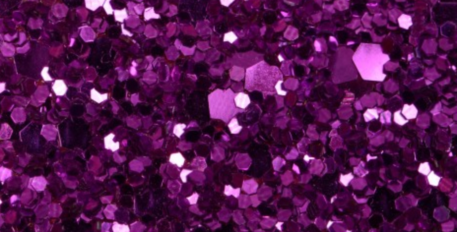 FUSCHIA PINK 'GLAM' GLITTER WALL COVERING