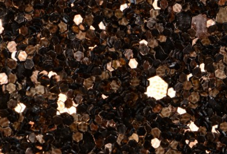 CHOCOLATE BROWN 'GLAM' GLITTER WALL COVERING