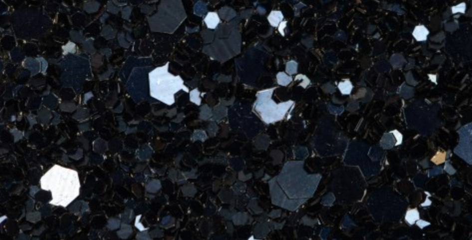 MIDNIGHT BLUE 'GLAM' GLITTER WALL COVERING