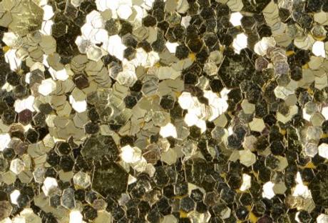 BRIGHT GOLD 'GLITZ' GLITTER WALL COVERING