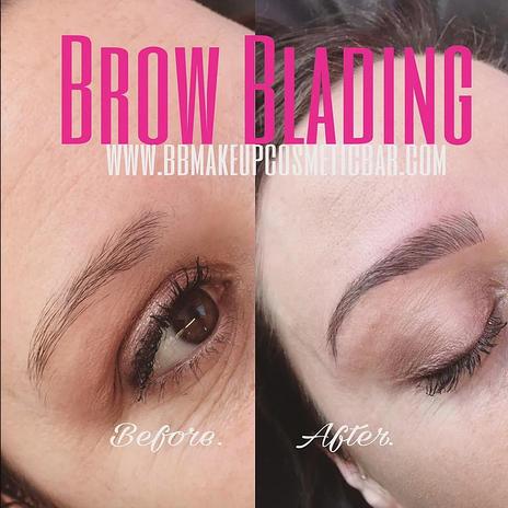 BROW BLADING