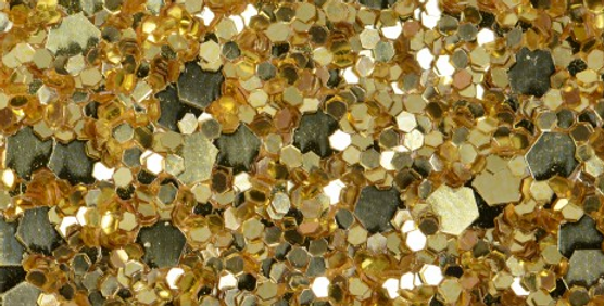GLAMOUR GOLD 'GLAM' GLITTER WALL COVERING