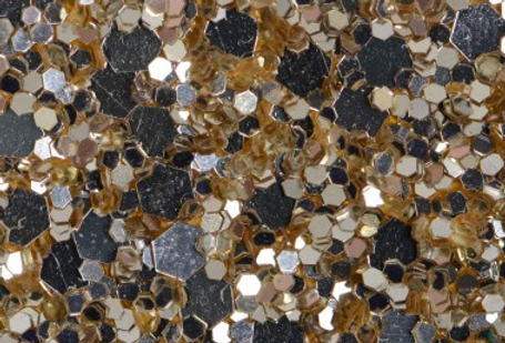 SAND GOLD 'GLAM' GLITTER WALL COVERING