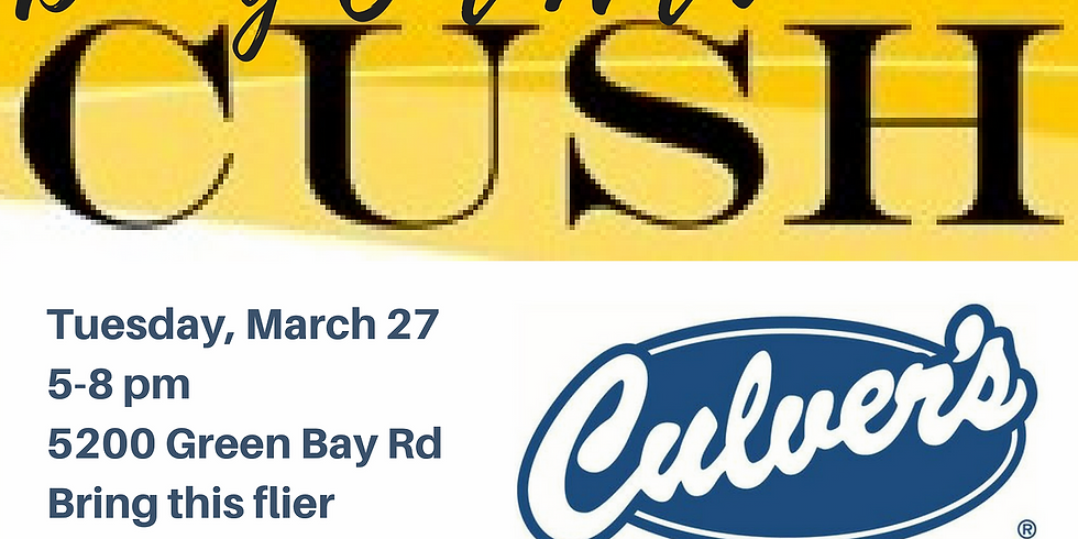 Dining Out with CUSH: Culver's