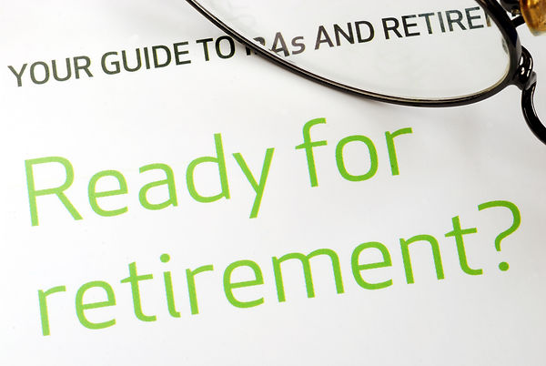 Getting ready for retirement concept of